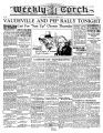 Weekly Torch 11/27/1929