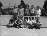 [Men's tennis team]