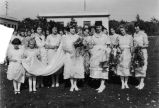 May Day Queen and an Entourage, 1921