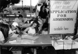 Application for Admission Table, 1990