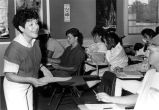 Students & Instructor in a Foreign Language Class, 1989
