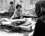 Students in Hornet Office, 1973